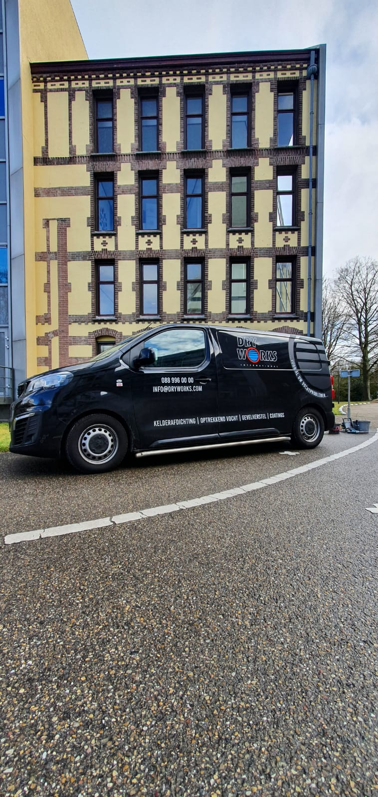 Project Dry Works Utrecht De Bilt kelderlekkage, vochtbestrijding, vochtwering, injectiewerk, vochtservice